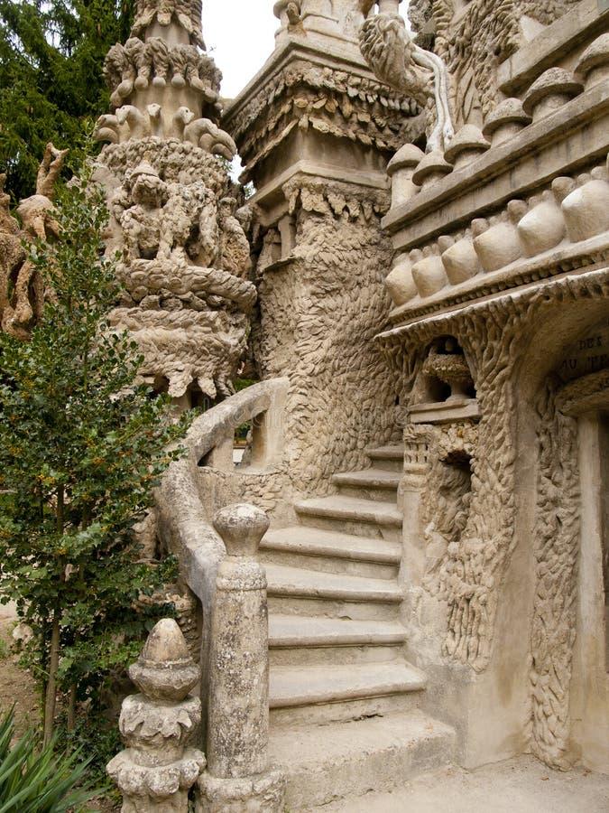 Palais idéal dans Hauterives, Drome, France photos libres de droits