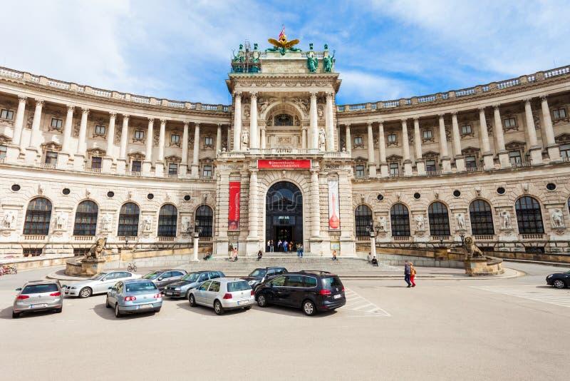 Palais impérial de Hofburg, Vienne photo libre de droits