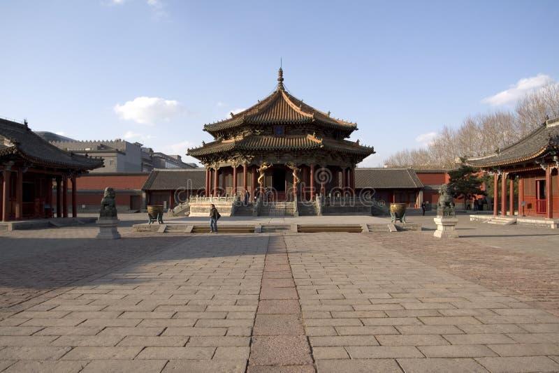 palais impérial shenyang photographie stock