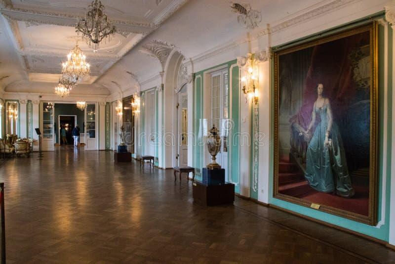 Palais intérieur de Kadriorg images libres de droits