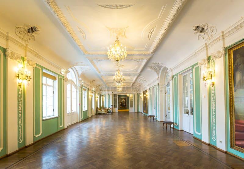 Palais intérieur Tallinn de Kadriorg dans Estland images libres de droits
