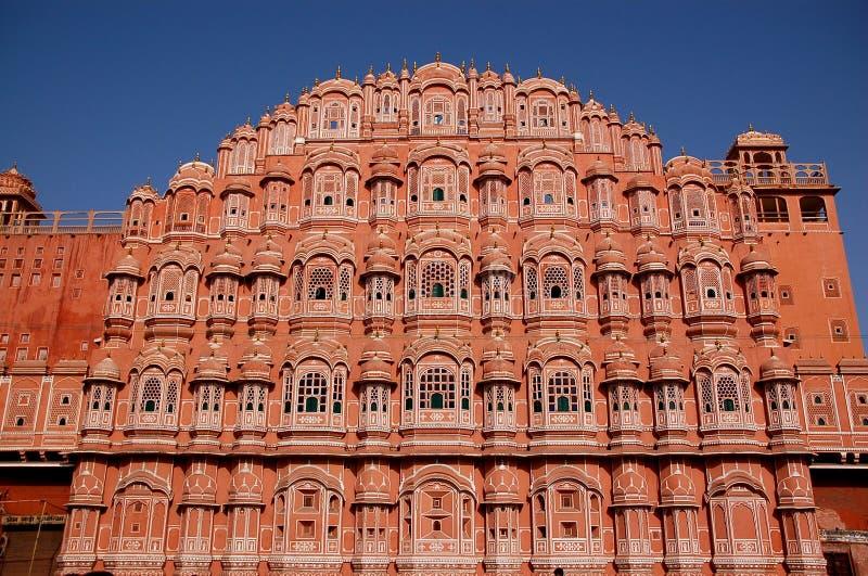 Palais Jaipur de vent photo libre de droits
