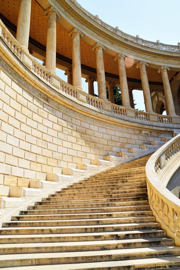 Palais Longchamp台阶 库存图片