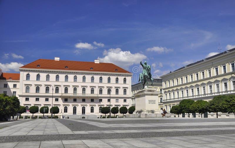 Palais Ludwig Ferdinand in München stock fotografie