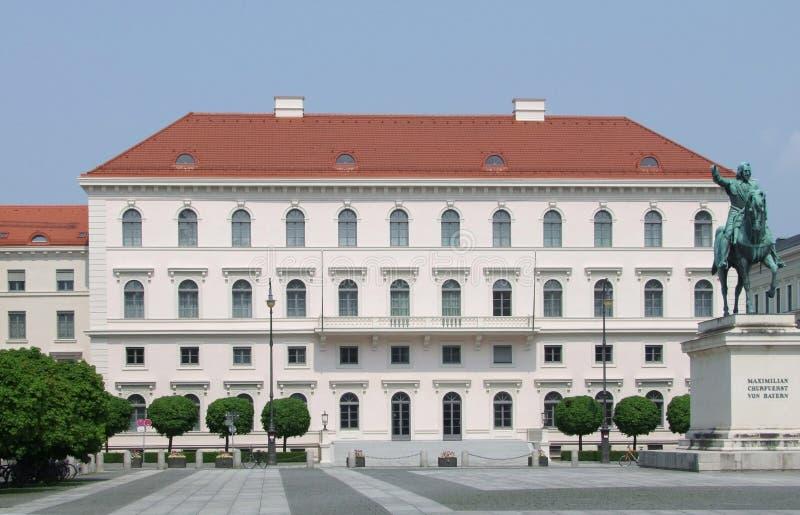 Palais Ludwig Ferdinand w Monachium zdjęcia stock