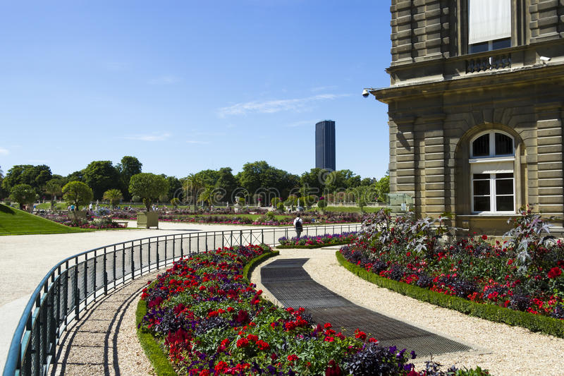 Palais Lussemburgo Francia fotografia stock libera da diritti