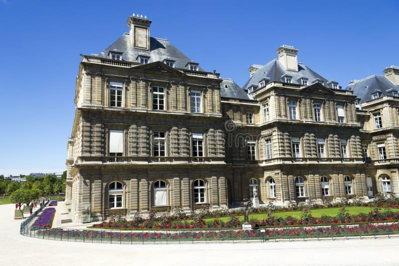 Palais Lussemburgo, Parigi, Francia fotografia stock libera da diritti