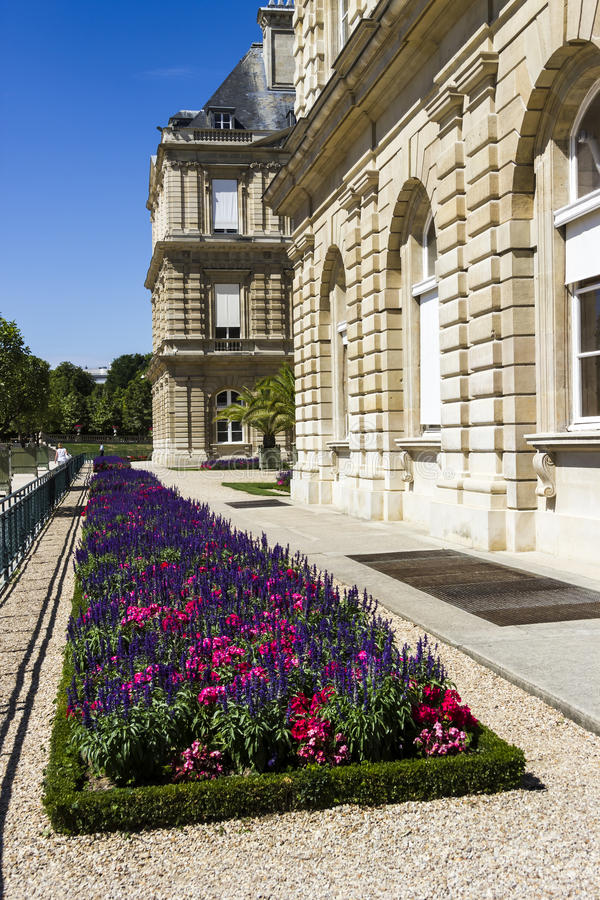 Palais Lussemburgo, Parigi, Francia immagine stock