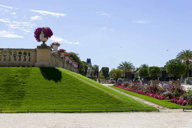 Palais Lussemburgo, Parigi, Francia fotografia stock
