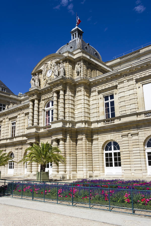 Palais Lussemburgo, Parigi, Francia fotografie stock libere da diritti