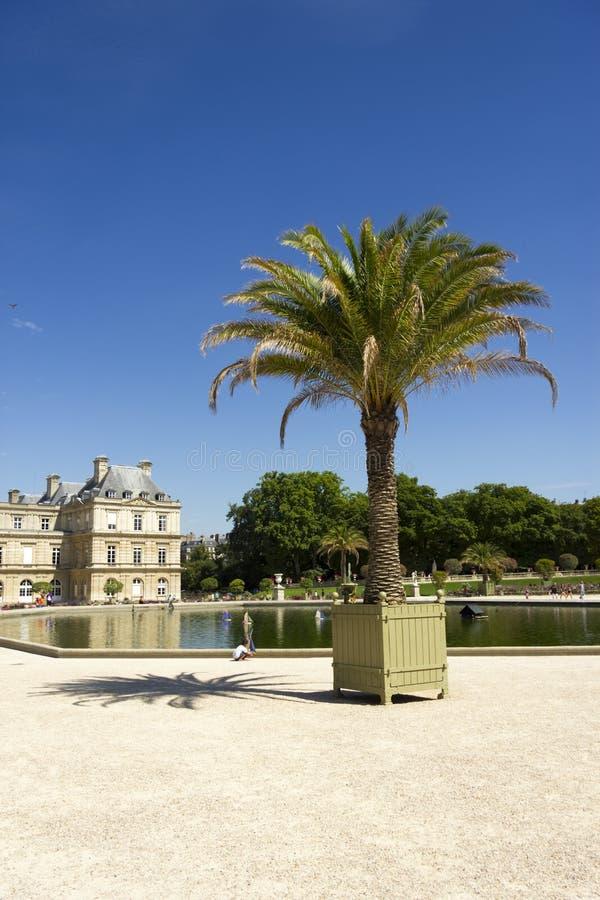 Palais Lussemburgo, Parigi, Francia immagine stock libera da diritti