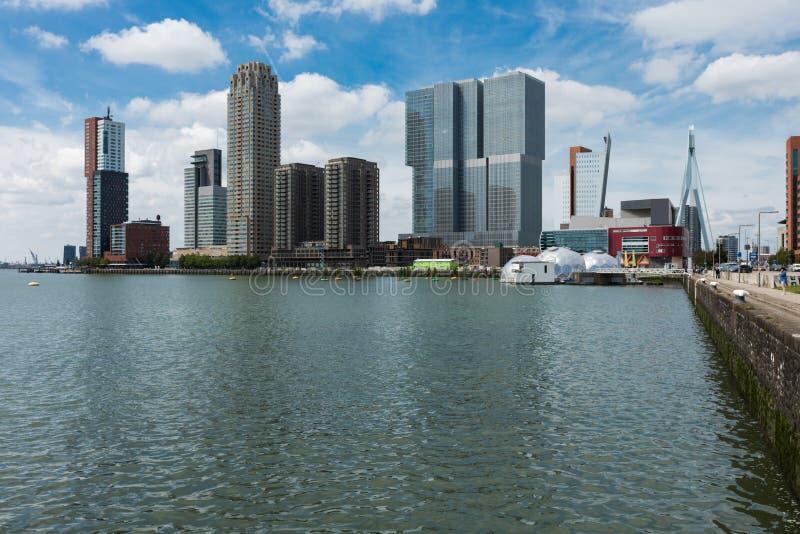 Palais modernes à Rotterdam photo libre de droits