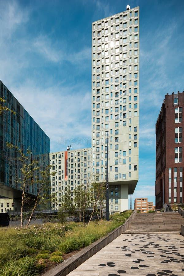 Palais modernes à Rotterdam photos stock