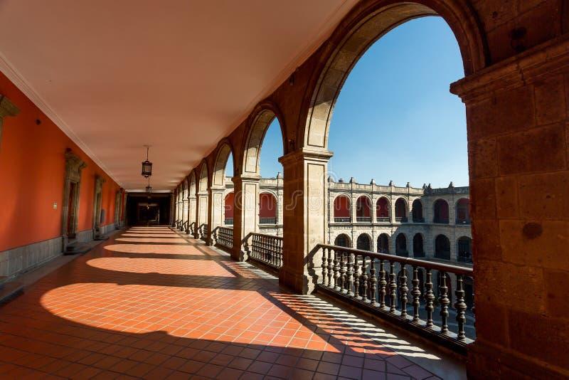 Palais national, Mexico image libre de droits