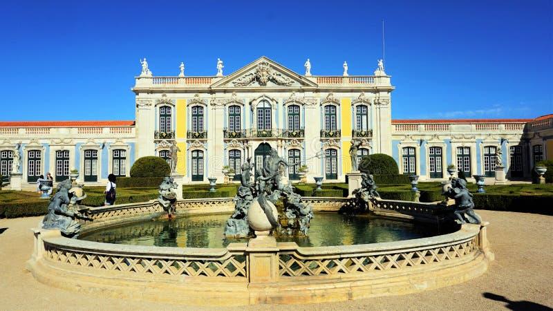 Palais national Queluz, Portugal photo stock