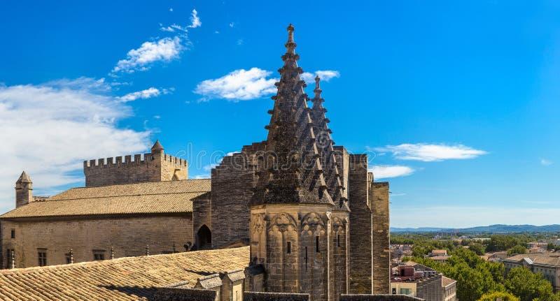 Palais papal d'Avignon photos libres de droits