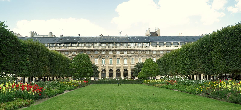 palais paris королевский стоковые изображения rf
