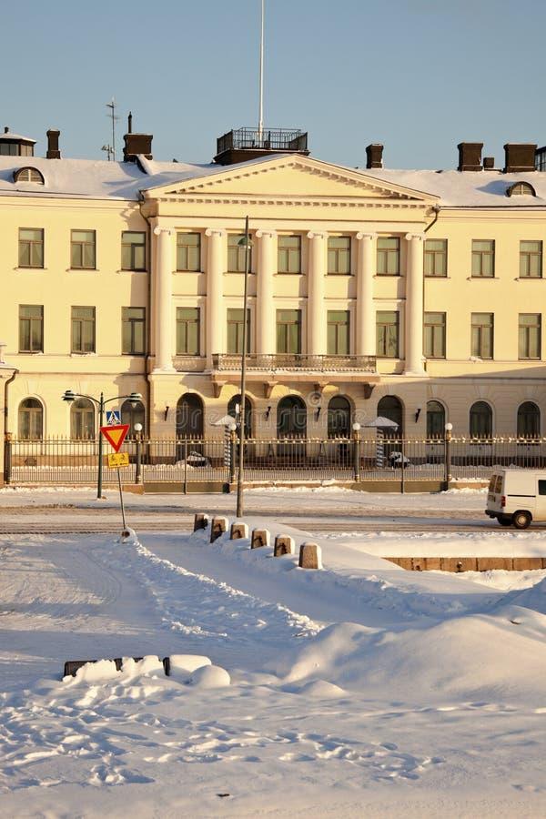 Palais présidentiel à Helsinki image stock