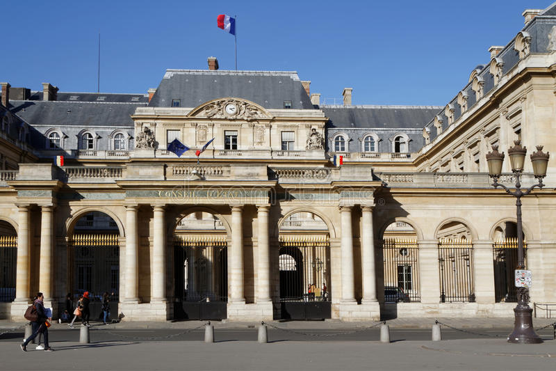 Palais royal photo libre de droits