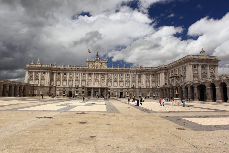 Palais Royal De Madrid Photographie éditorial