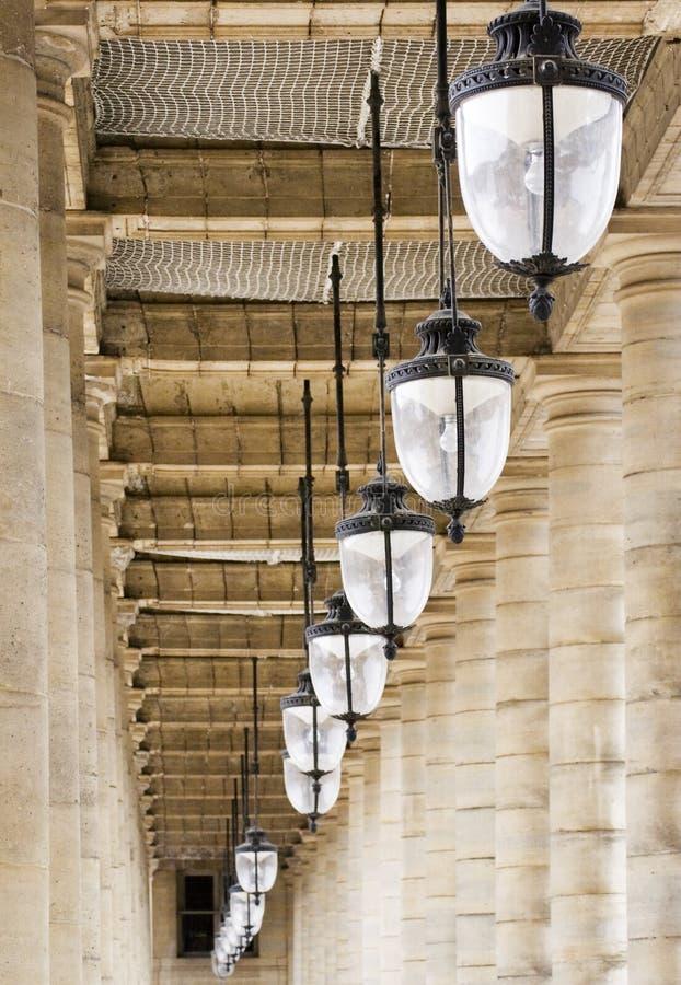 Palais Royal de passage arqué images libres de droits