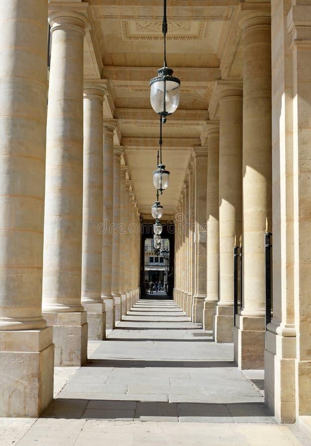 Palais Royale, Париж, Франция стоковые изображения rf