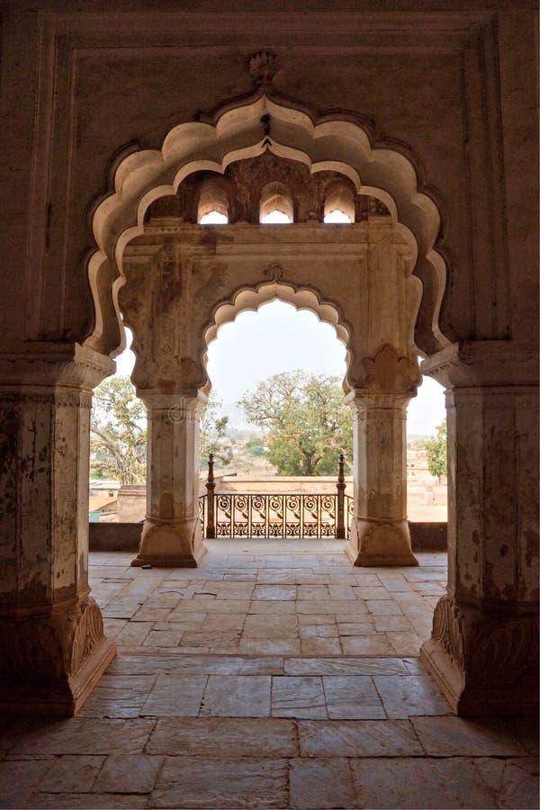 palais s d'orchha de l'Inde d'architecture images libres de droits