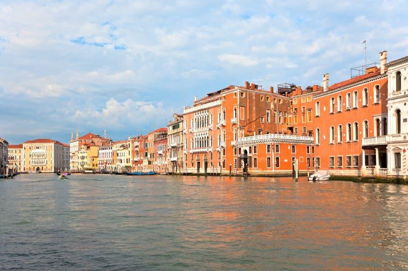 Palais sur le canal grand Venise Italie photo libre de droits