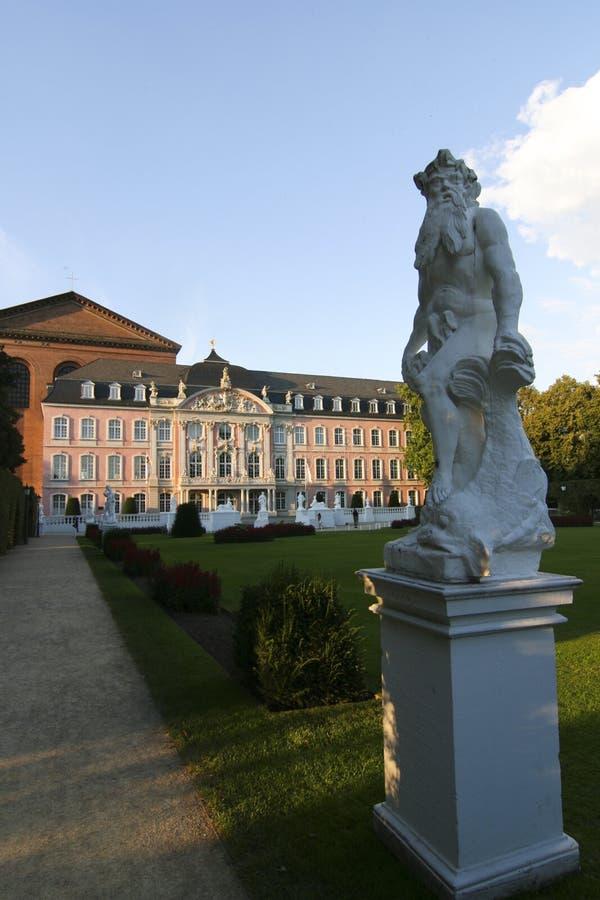 Palais - Trier, Allemagne image stock