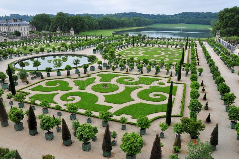 Palais Versailles, Orangery Paris, France photo libre de droits