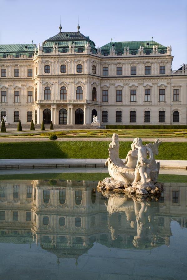 palais Vienne de belvédère photos libres de droits