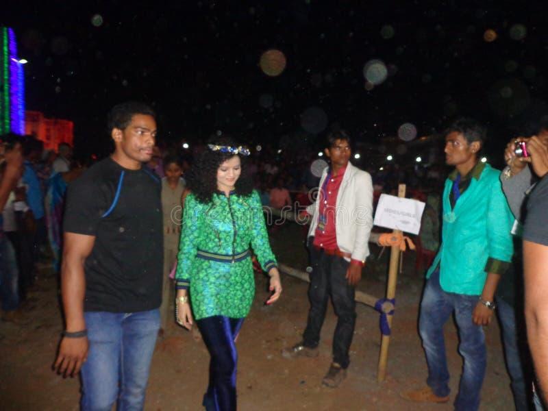Palak muchhal vid saifest 2015 balasore india arkivfoto