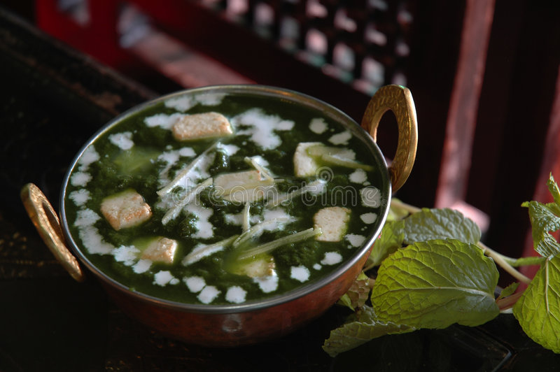 Download Palak Paneer stock image. Image of aromatic, spinach, curry - 3513105