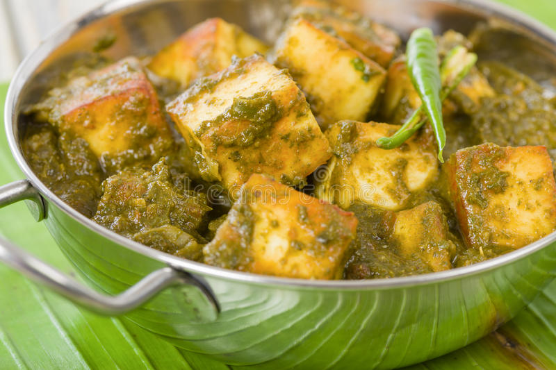 Download Palak Paneer stock image. Image of curry, meal, green - 31971131