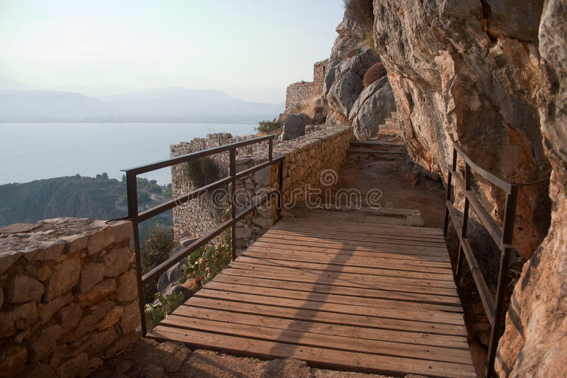 Palamidi castle bridge