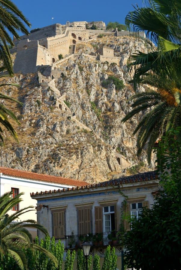 Palamidi forteca, nafplion, Grecja zdjęcia stock