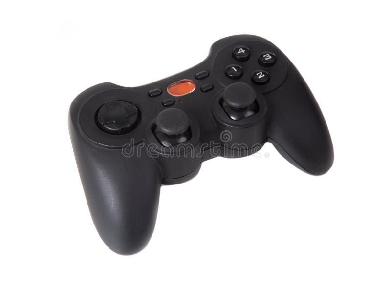Palanca de mando del juego aislada imagen de archivo
