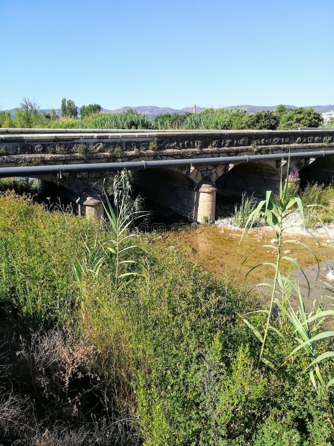 Palancia γεφυρών ποταμών Segorbe στοκ φωτογραφίες