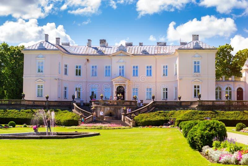 Palanga Amber Museum, Litauen royaltyfri foto