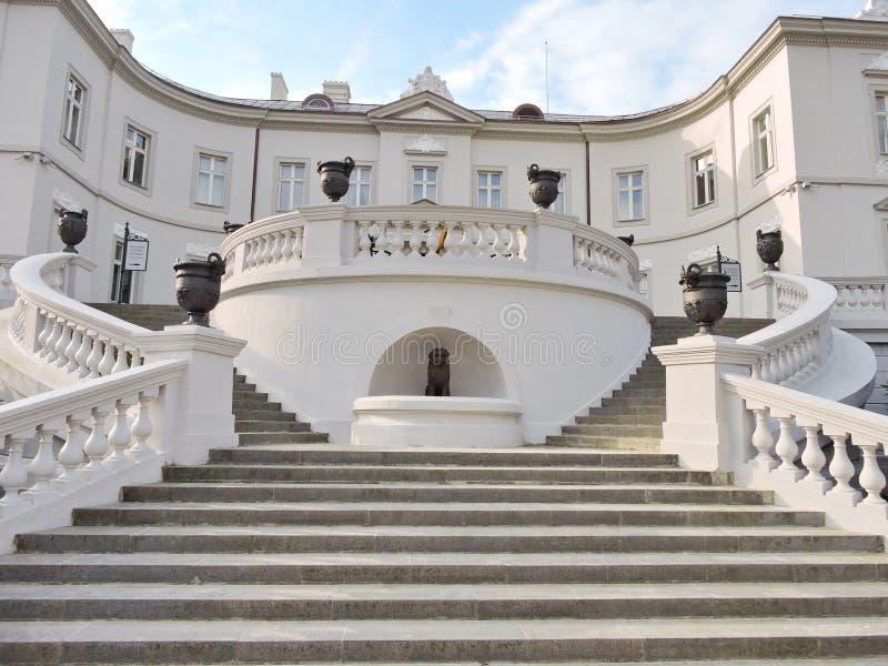 Palanga Amber Museum, Lituânia fotos de stock