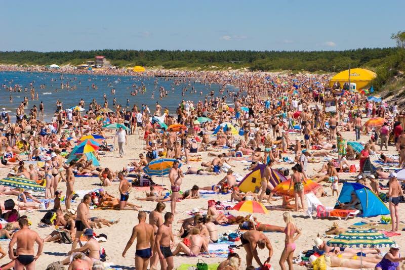Palanga plaża obraz royalty free