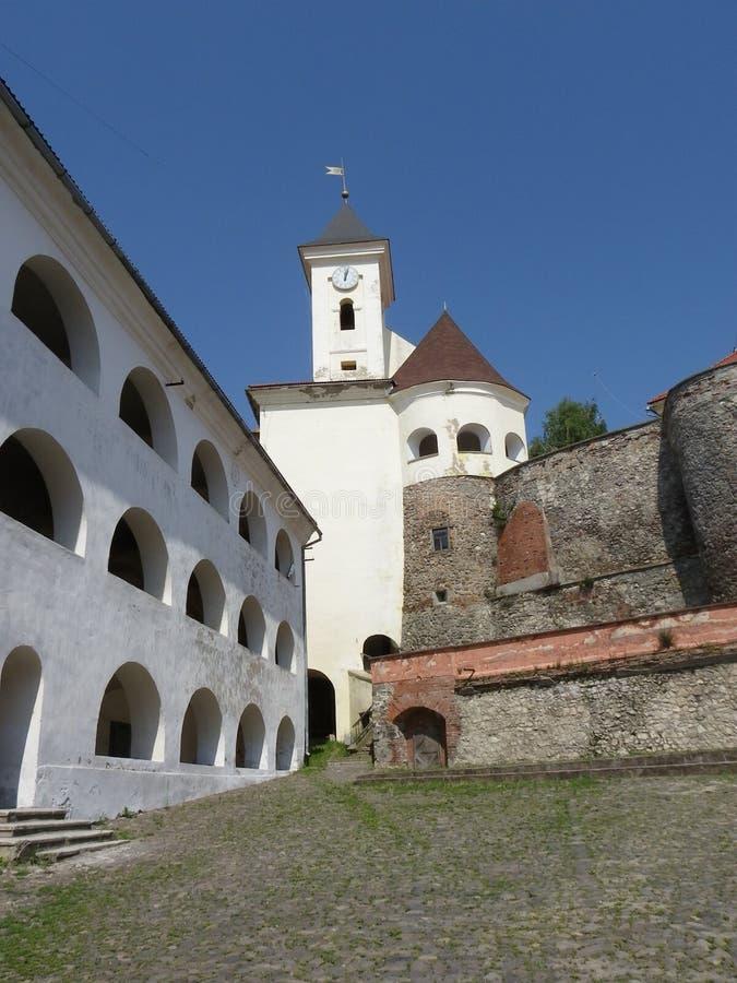 Palankas замка в Mukachevo, Украине стоковая фотография rf