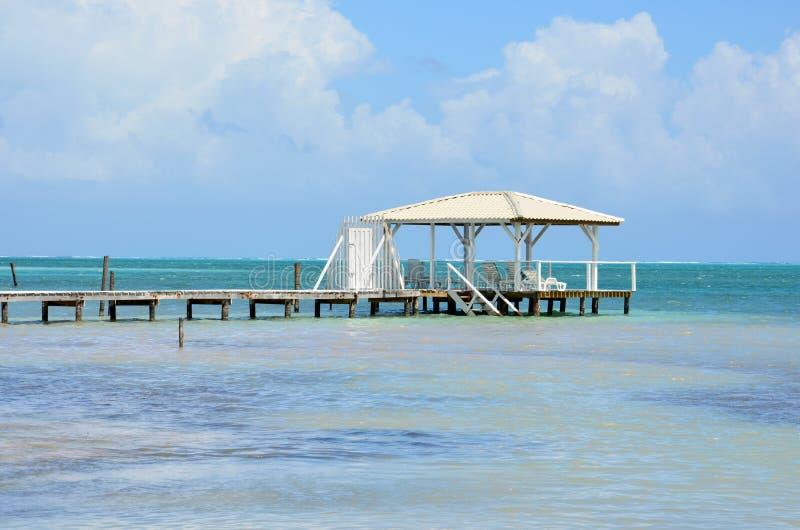 Download Palapa dock stock photo. Image of beach, dock, reef, palapa - 24329264