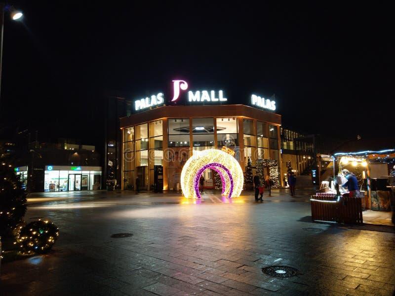 Palas centrum handlowe Iasi Rumunia fotografia stock