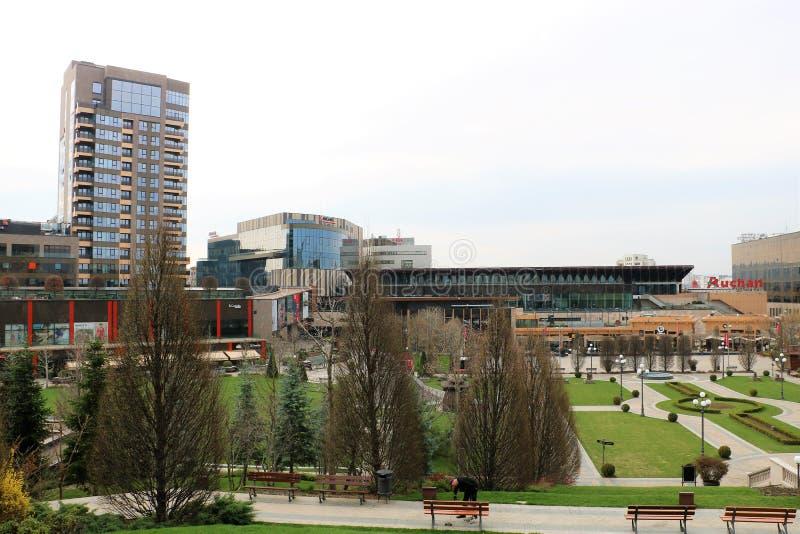 Palas kompleks w Iasi Rumunia fotografia stock