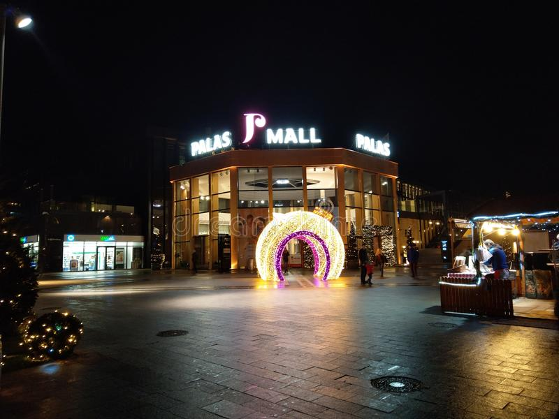 Palas-Mall Iasi Rumänien stockfotografie