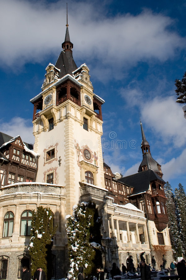 palas pelesh Romania fotografia stock