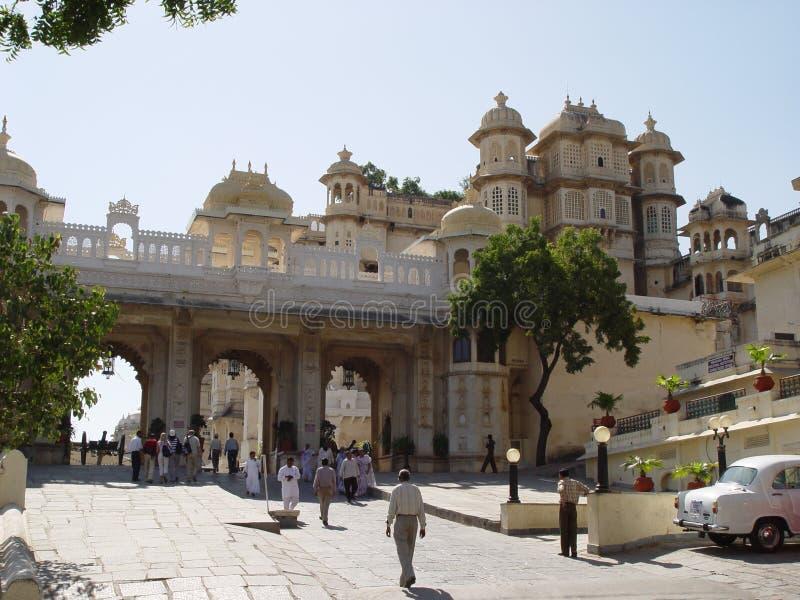 Palas van Udaipur stock afbeelding