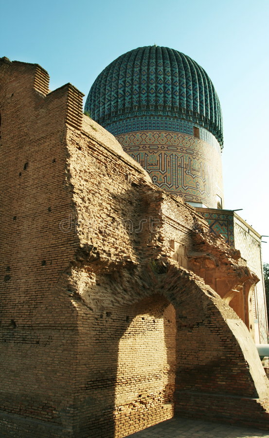 Palast in Bukhara stockbilder