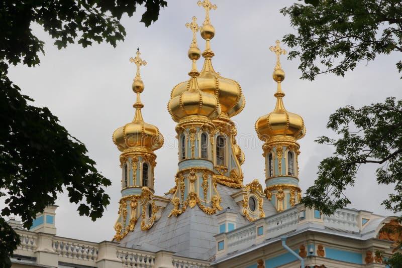 Palast de Catherine en St Petersburg en Rusia fotos de archivo